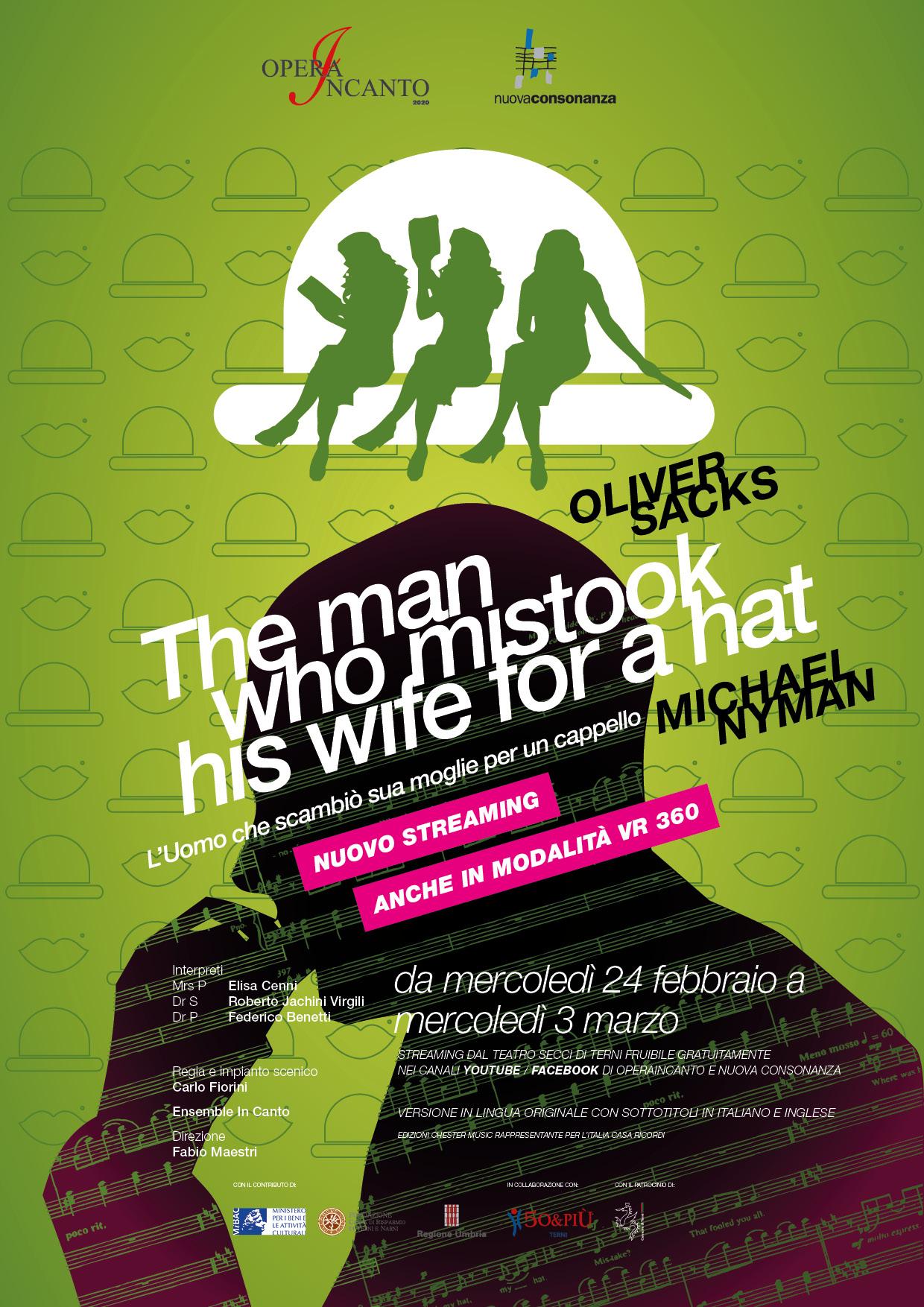 L'Uomo che scambiò sua moglie per un cappello